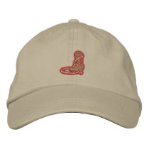 Boot and Rope Embroidered Baseball Cap