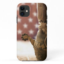 Boot and spur iPhone 11 case