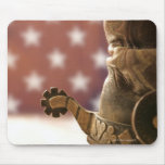 Boot and spur mouse pad