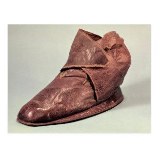 Boot belonging to Charles Maurice Postcard