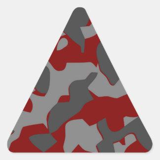 Boot Camp Camo Triangle Sticker