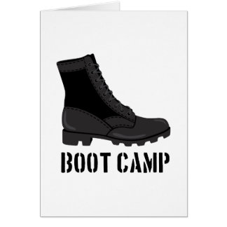 Boot Camp Card