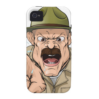 Boot Camp Drill Sergeant Vibe iPhone 4 Cover