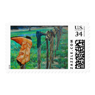 Boot Heaven Postage Stamps