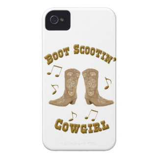 """""""Boot Scootin' Cowgirl"""" Western Blackberry Case"""