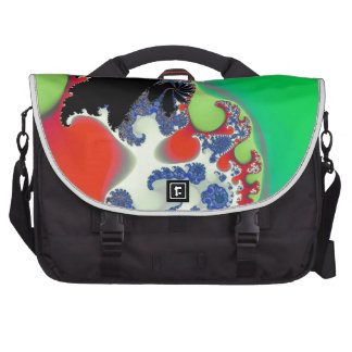 Boot-Skootin' Boogie! Fractal Art Bags For Laptop