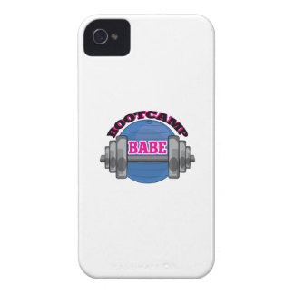 Bootcamp Babe iPhone 4 Cover