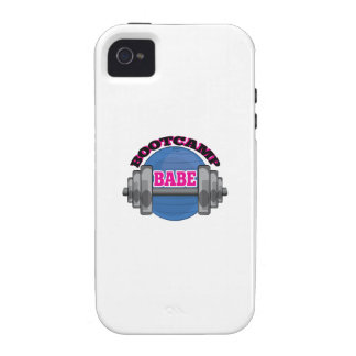Bootcamp Babe Case-Mate iPhone 4 Cases