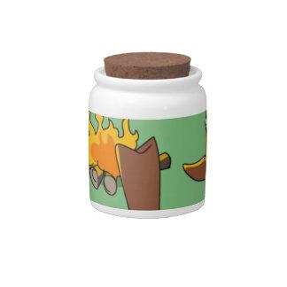 Bootcamp Candy Jars