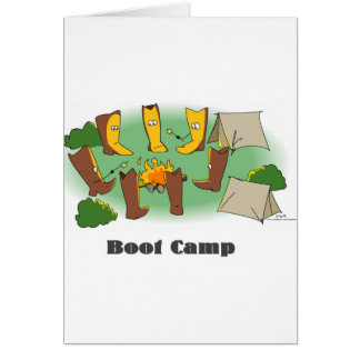 Bootcamp Greeting Card