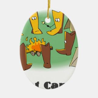 Bootcamp Ceramic Ornament