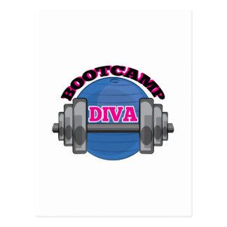 Bootcamp Diva Postcard