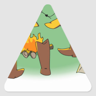 Bootcamp Triangle Stickers