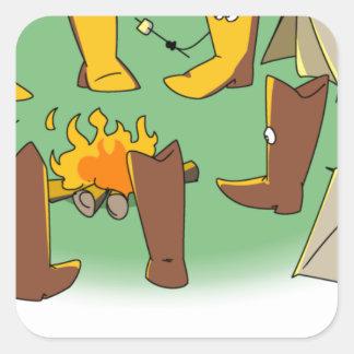 Bootcamp Square Sticker