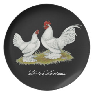 Booted Bantams Melamine Plate