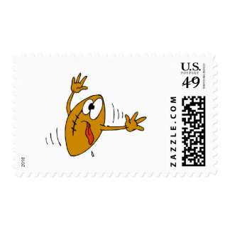 Booted Football Postage Stamps