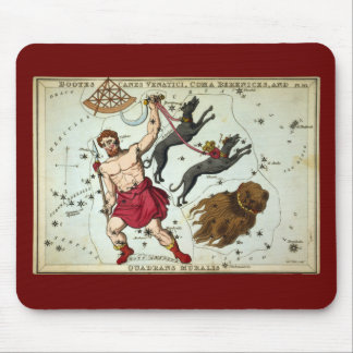 Bootes Canes Venatici, Coma Berenices, etc Mouse Pad