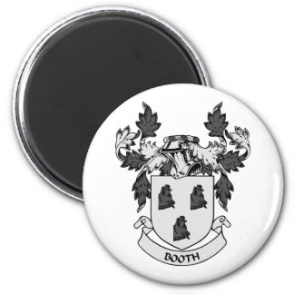 BOOTH Coat of Arms 2 Inch Round Magnet