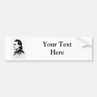 Booth ~ Edwin Thomas / American Actor Car Bumper Sticker