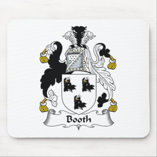 Booth Family Crest Mouse Pad