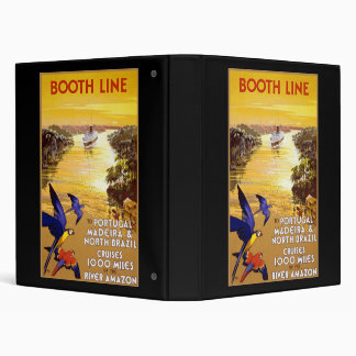 Booth Line to Portugal Madeira Binder