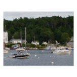 """Boothbay Harbor 11"""" x 8.5"""" Poster Paper (Matte)"""