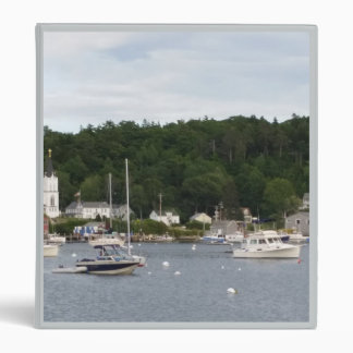 """Boothbay Harbor Boats Avery Signature 1"""" Binder"""