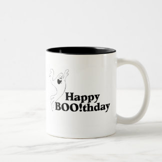 Boothday feliz taza dos tonos