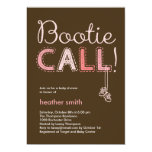 Bootie Call Baby Shower Invitation - Pink Invitations