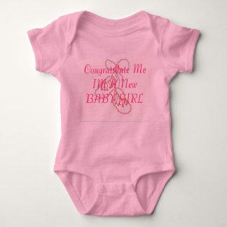 BootiesDetail, Congratulate Me IM A New BABY GIRL T Shirt
