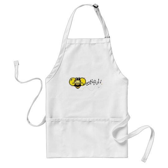 Bootiful Bee Adult Apron