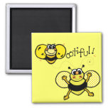 Bootiful Bee Refrigerator Magnets