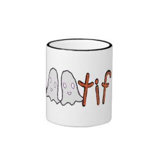 BOOTIFUL ghost mug