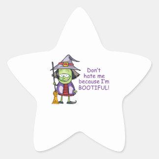 BOOTIFUL WITCH STAR STICKER