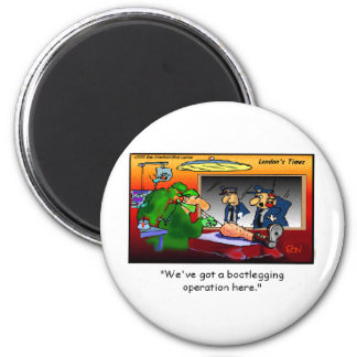 Bootleg Operation Funny Cartoon Tees & Gifts Fridge Magnet
