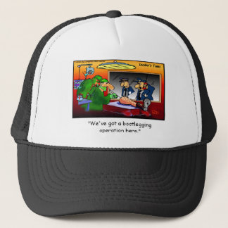 Bootleg Operation Funny Cartoon Tees & Gifts Trucker Hat
