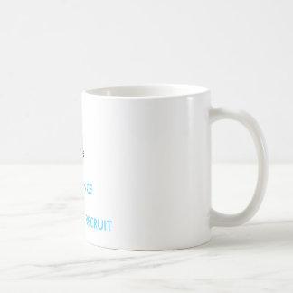 BOOTPRINT, FIT2DANCEBOOTCAMP RECRUIT COFFEE MUG