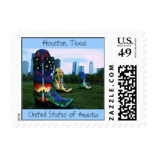 boots4, Houston, Tejas, Sta unido… - Modificado Sello
