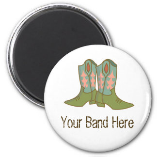 Boots 2 Inch Round Magnet