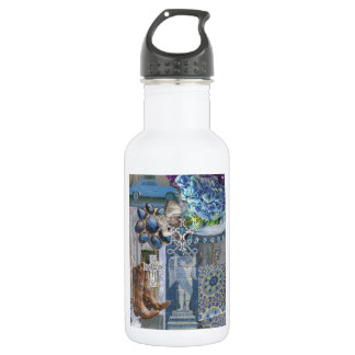 Boots and Crosses Stainless Steel Water Bottle