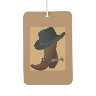 Boots and Spurs Air Freshener