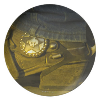 Boots and Spurs Dinner Plate