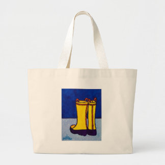 Boots by Piliero Large Tote Bag