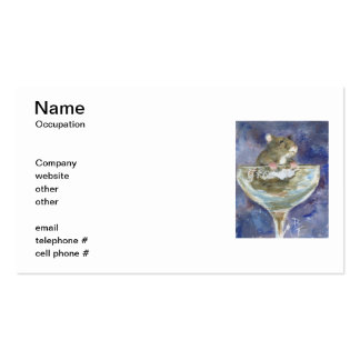 Boots Dwarf Hamster Business Cards