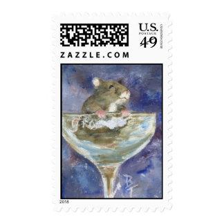 Boots Dwarf Hamster Postage Stamps