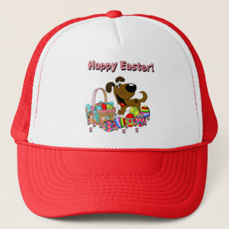Boots Found the Easter Basket Trucker Hat
