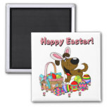 Boots has Easter Bunny Ears Refrigerator Magnet