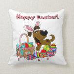 Boots has Easter Bunny Ears Throw Pillows