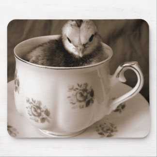 Boots In A Tea Cup Mouse Pad