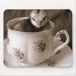 Boots In A Tea Cup mousepad